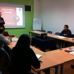 ¡HACCP: Análisis Control Critical Points! Iniciando curso con el Dr. Carlos Díaz @rsolanourban #UnPasoAdelante http://t.co/x3ZkKeSA2o