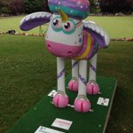 Yay Sparkles the unicorn has arrived at the Ardagh on Horfield Common! Exciting times @FOHC_Bristol @shaun_inthecity http://t.co/tcAqL51TUo