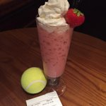 Table 51 are in for a treat with a surprise ???? #Wimbledon2015 ????#strawberrytiebreak cocktail with @StoliUK vanilla! £5 http://t.co/fOKjSSCRL0