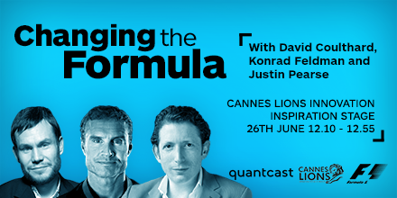 Get down to the Innovation stage today at 12:10 PM CET! #LionsInnovation @Cannes_Lions @therealdcf1 @justinpearse http://t.co/YqZZVKT6oA
