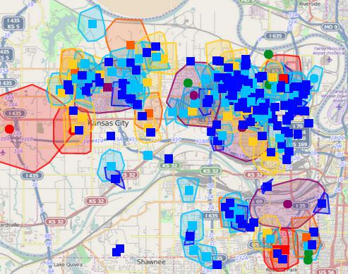 Over 11,000 are without power in wyandotte county, according to