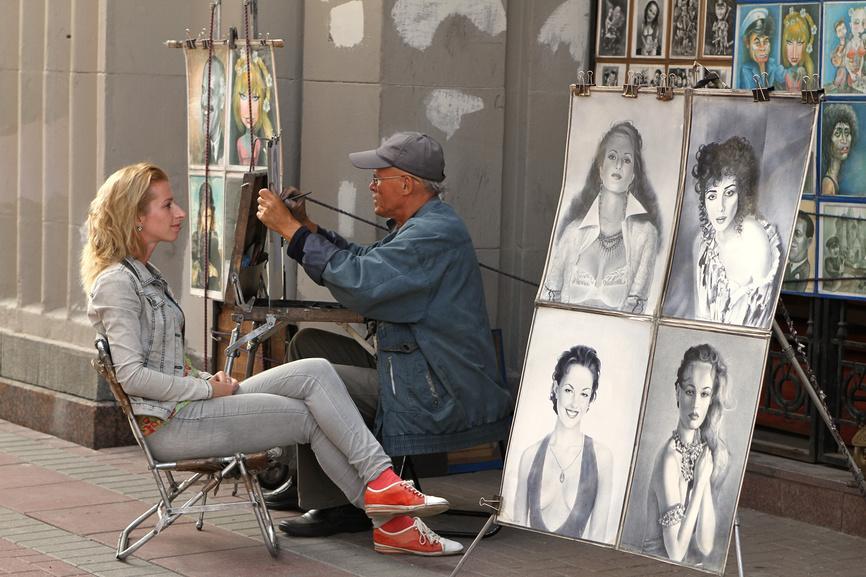 Где в москве рисуют художники