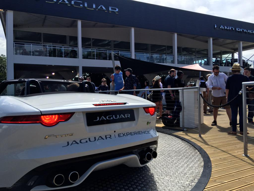 Well done @Jaguar your stand @fosgoodwood looks amazing this year #FTYPE http://t.co/cMmkJhjR1j
