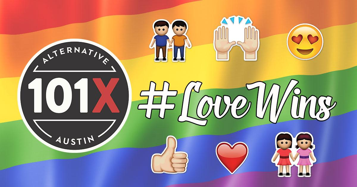 #LoveWins and we couldn't be happier! http://t.co/mPeK337N2l