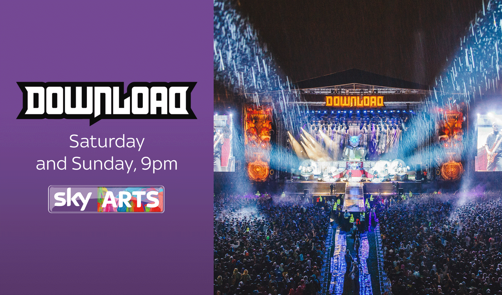 @BillyIdol is live as part of our @DownloadFest highlights - this weekend on @skyarts http://t.co/cuZp3zehoe