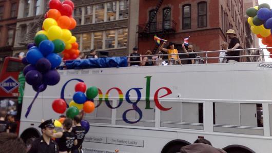 Marching w/ pride (& corp. America) toward #MarriageEquaility via @Jordan_Roth http://t.co/2l9XaXpcCz #Pride2015 http://t.co/3dCKyOjsGw