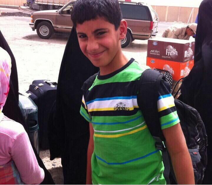 محمد أحمد الجعفر .. هنئياً لك يا حبيبي .. استشهد صائماً وهو يصلي في بيت الله .. أصغر شهداء #تفجير_مسجد_الإمام_الصادق http://t.co/YvT4Vc5cex