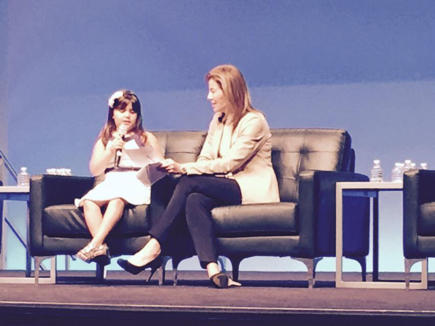 Listening to the cutest fireside chat I've ever seen at #AWSWWPS with @teresacarlson #smartisbeautiful http://t.co/TuP8A0noeM