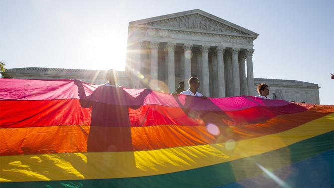BREAKING: Supreme Court has ruled that state bans on same-sex marriage are unconstitutional