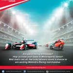 RT @MahindraRacing: Stand a chance to #win Mahindra Racing #Merchandise! We need 60 sec for your feedback. Click: http://t.co/ZODMscJ4Ps ht…