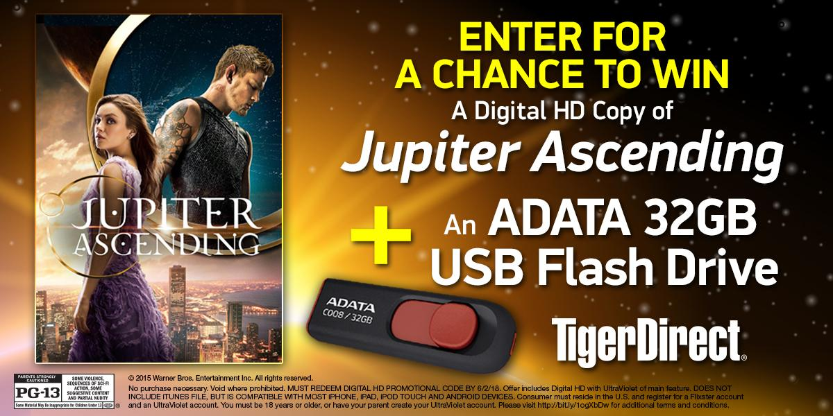 Last chance! RT To win #JupiterAscending on Digital HD and a 32GB Thumb Drive! Own the Digital HD now @WBHomeEnt http://t.co/MnoNzG2KSx