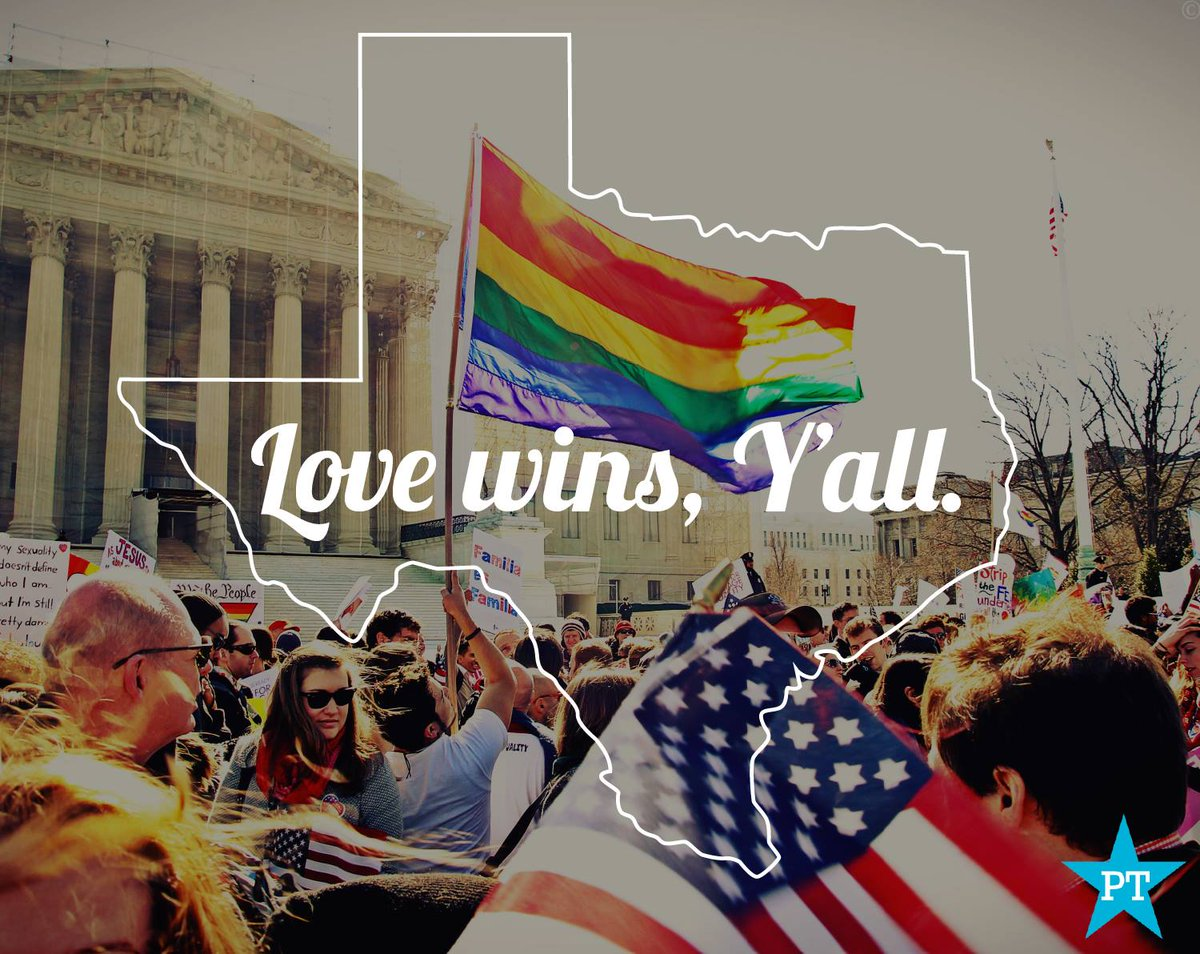 Love wins, y'all.