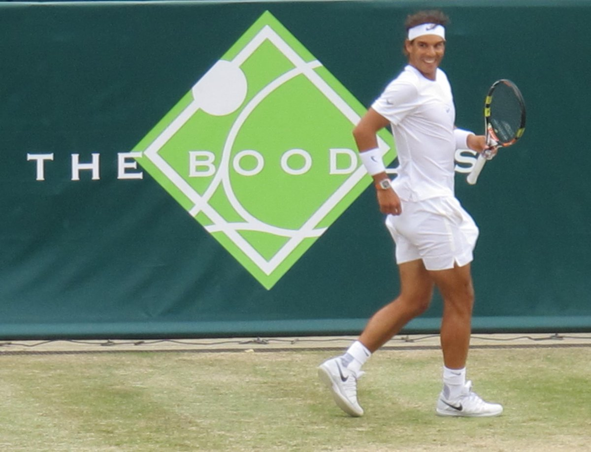 @RafaelNadal playing at @TheBoodles http://t.co/WKOsUeHzRr