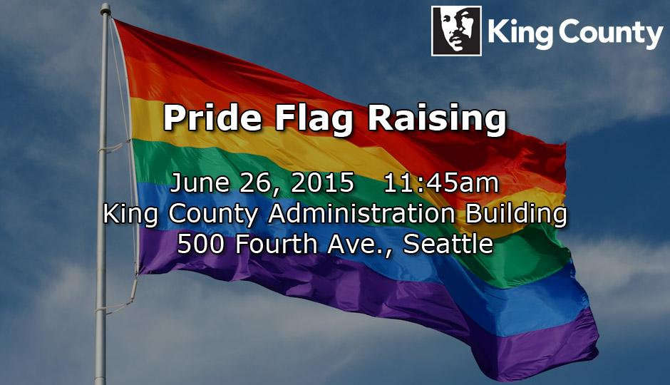 Join us at the KC Admin Building at 11:45am as we raise the #Pride Flag. #LoveWins #MarriageEquality http://t.co/xkGdY2eofh