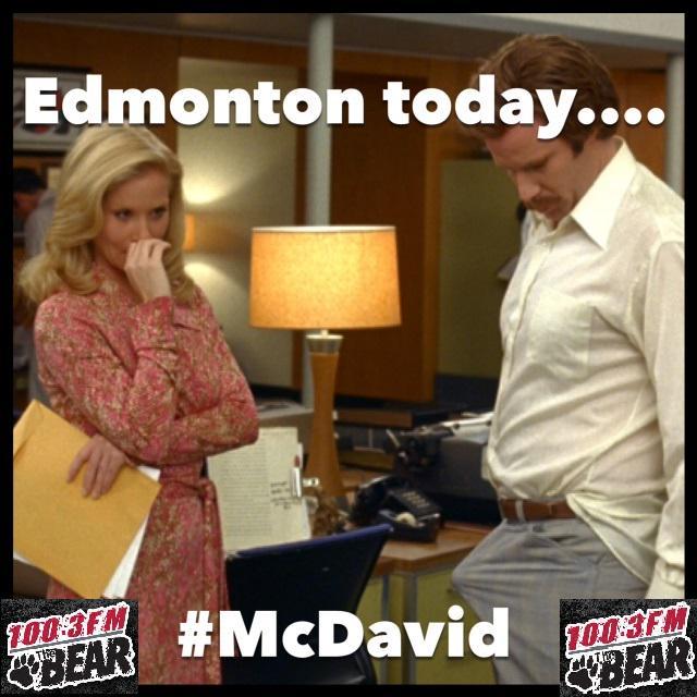 Sorry. Had to. -Jess #McBoner #McDavid #NHLDraft2015 http://t.co/6PGOt9WxDc