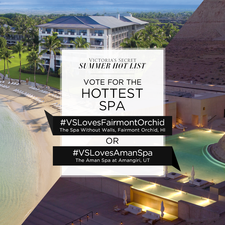 #VSLovesFairmontOrchid or #VSLovesAmanSpa? Tweet to VOTE for Hottest Spa on our #SummerHotList. http://t.co/ItDe936JEs