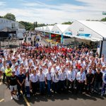 RT @FIAformulaE: One big, happy family! The @FIAformulaE paddock gathers for an end of term pic #LondonePrix http://t.co/dclQOwCOmS