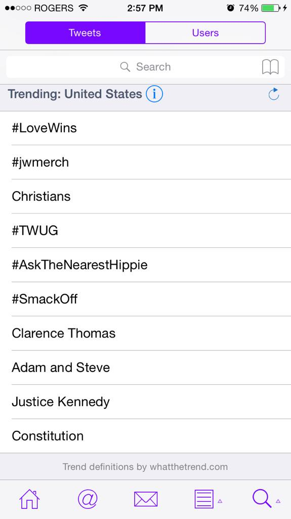 How absolutely perfect #LoveWins & #TWUG trending together @DonnieWahlberg