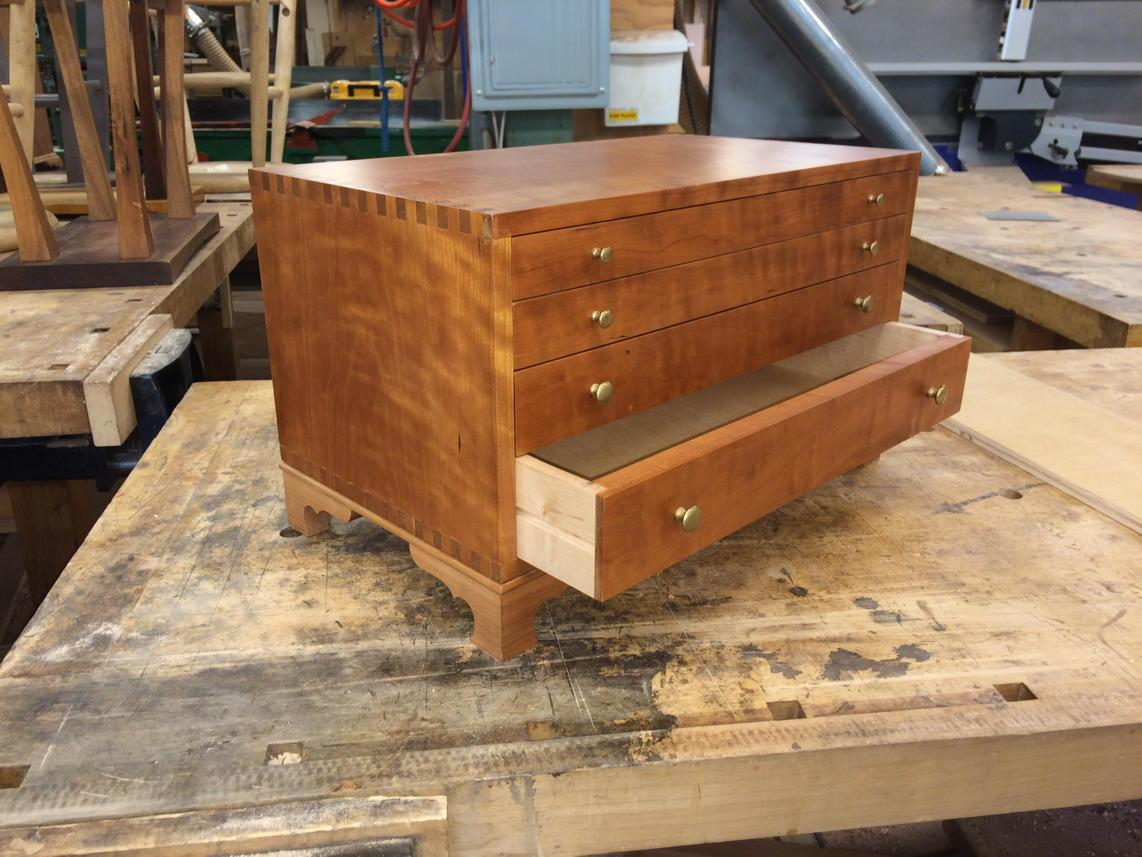Tool chest? Jewelry chest? Either works, and we've got the video of Alan Turner showing how to make it! http://t.co/e3JHEBsymT