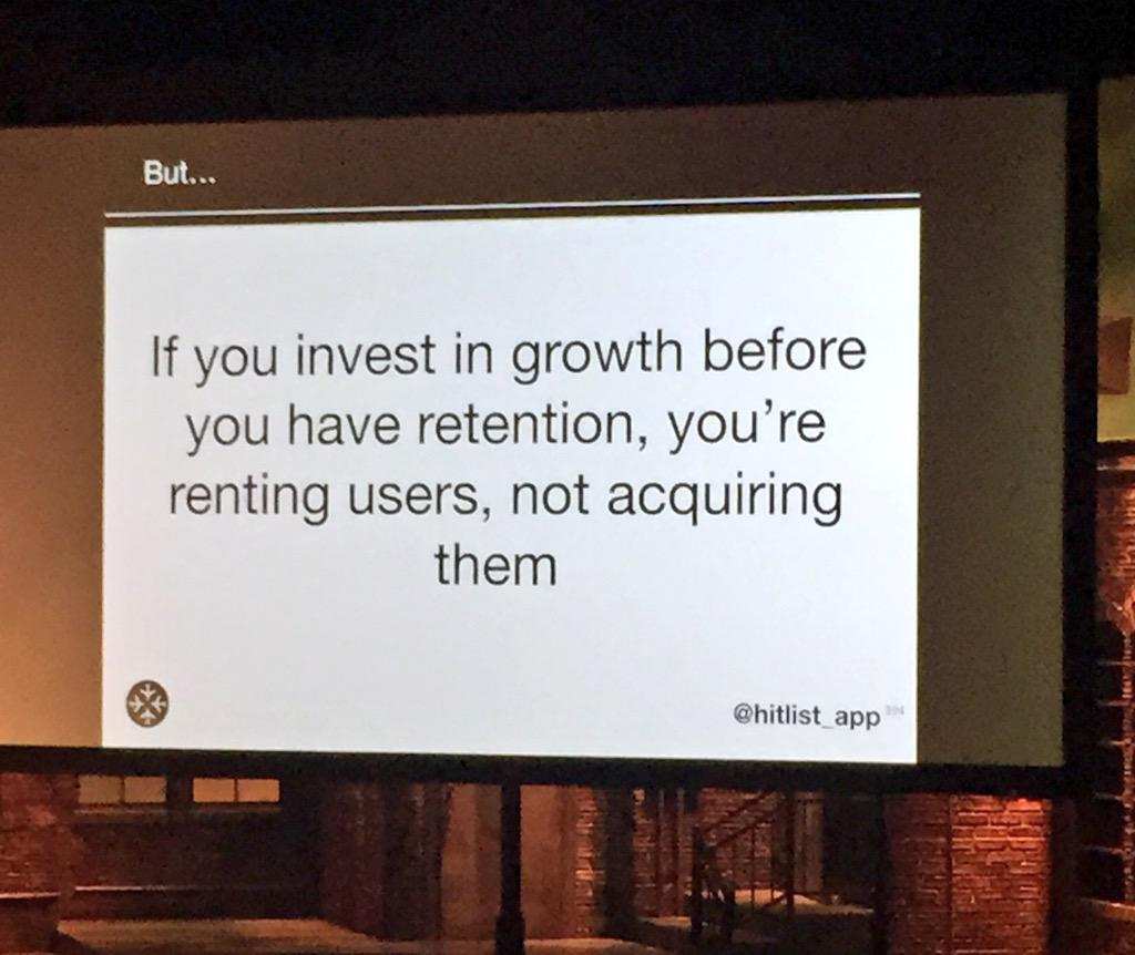 Real talk for #startups by @gillianim from @hitlist_app #userconf PDX http://t.co/MPkxmZDPpp