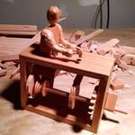 Clockwork Carpenter Made from a Single 2×4 http://t.co/ZTrHPXGQDj via @make http://t.co/jXIwNM1JXz
