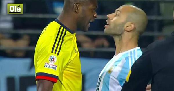 #Masche y su pecheada número milquinientos en la historia del fútbol. No se metan con el Jefe... http://t.co/7YsUHyzfjV