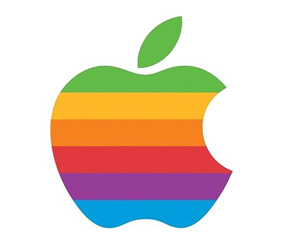 Is anyone surprised that #Apple didn't throw it back to their old school logo for today? #Pride2015 http://t.co/3BNrIRD3fd