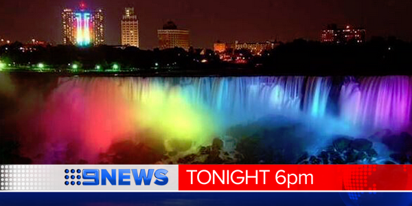 A global celebration after the US legalises gay marriage. Will Aust follow suit?#LoveWins @vickyjardim @9NewsBrisbane http://t.co/yrfuvTUKSz