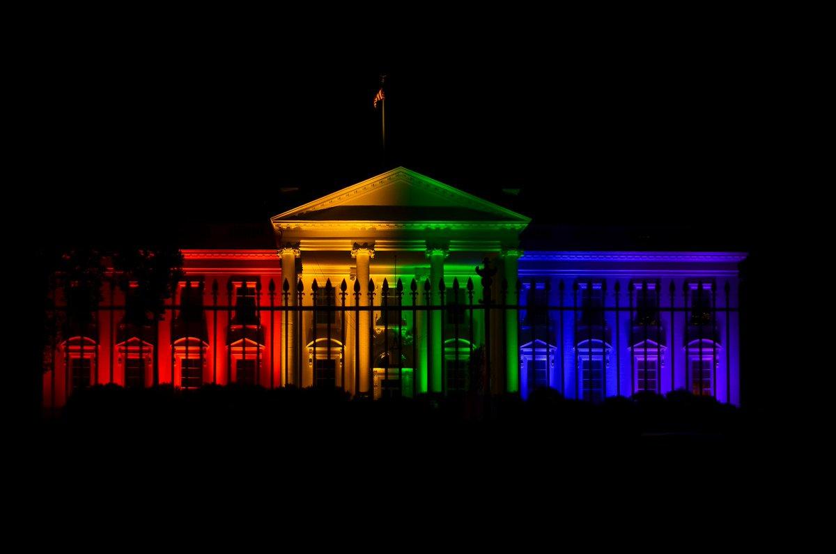 Mariage gay les tats unis aux couleurs de l 39 arc en ciel for La maison arc en ciel