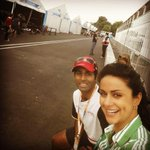 RT @karunchandhok: Nice to have my friend @GulPanag at the @FIAformulaE races! A true fan and a great supporter for many years