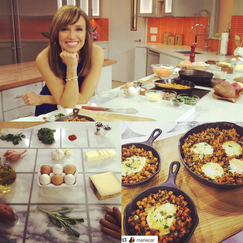 In case you missed it head to http://t.co/shWawBAuG2 for my sausage,sage,sweet potato hash & eggs #recipe @TODAYshow http://t.co/ZkA6MmL4xH