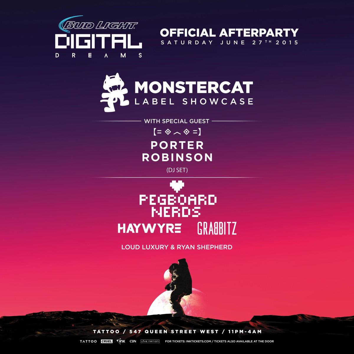 Tonight! Special guest @porterrobinson alongside the @Monstercat Family to take over the @DigiDreamsFest AP! http://t.co/mUNNBIqkj1