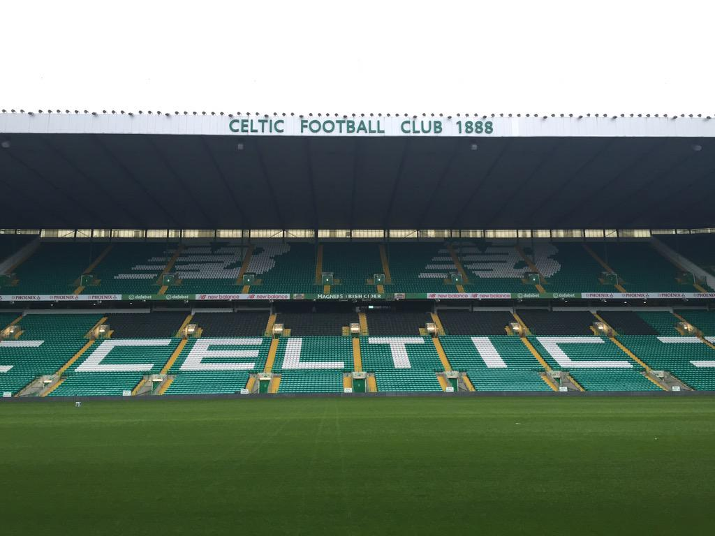 New balance logos done at Celtic Park http://t.co/A8mRXckbnS