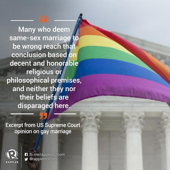 Love Wins Quotes Impressive Check Out The Best Quotes And Excerpts From Lovewins Decision