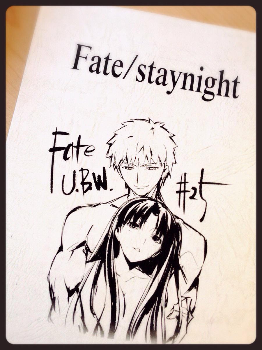 凛に出会えたことは、私の人生で最高の幸運でした。  2クール、ありがとうございました!   #Fate_SN_Anime http://t.co/PMa06CwNSq