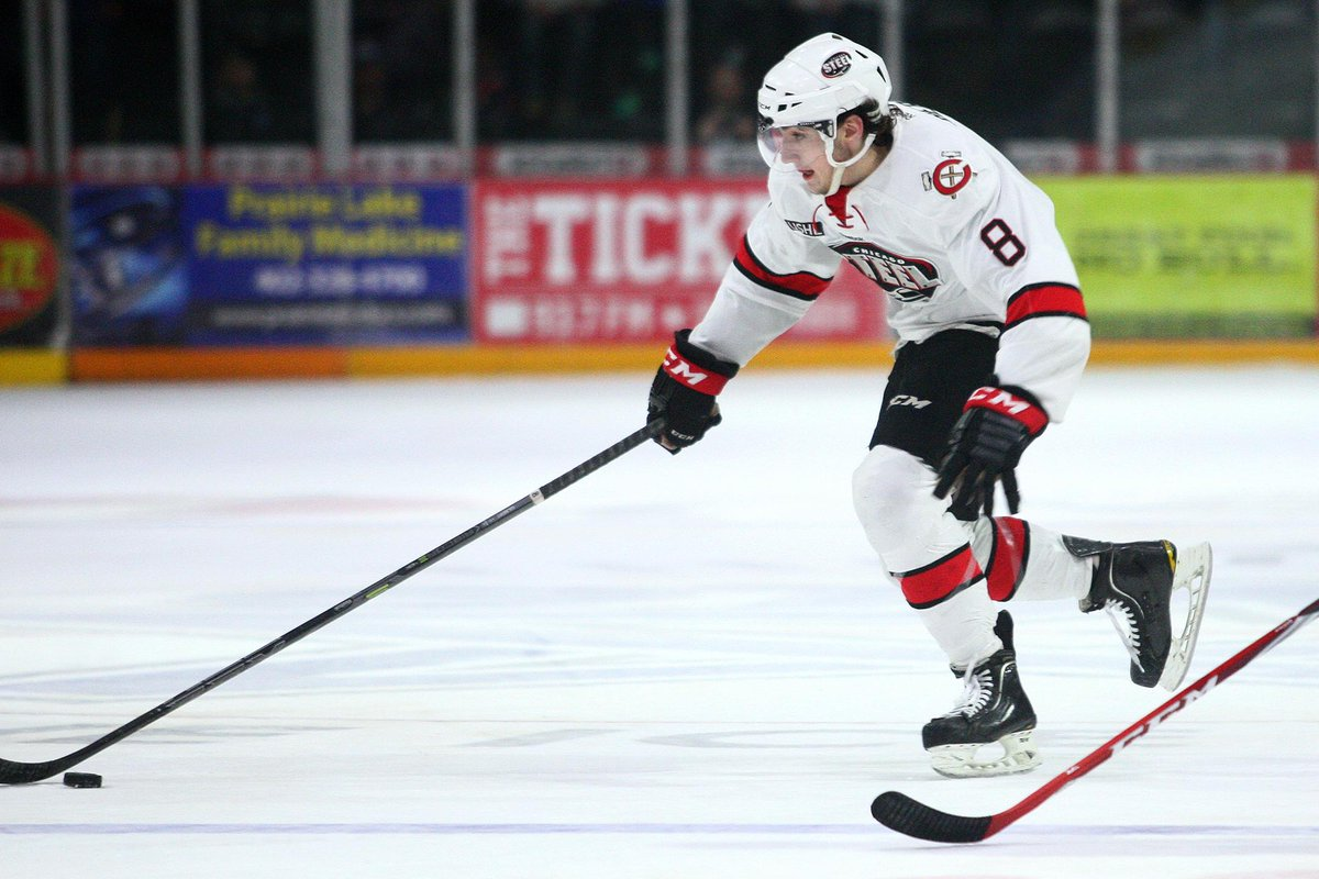The @NHLBlackhawks keep it in the windy city and draft @ChicagoSteel defenseman Dennis Gilbert Jr. #USHL http://t.co/L5nPqfRxad