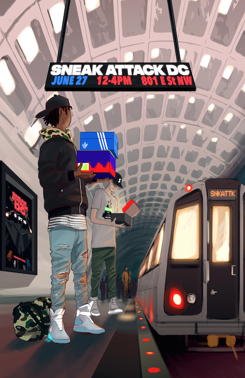 The @SNKATTK is in full effect! Join Us #SneakerHeads! http://t.co/4Bi7w0USPz #DC http://t.co/frGXGx4mez