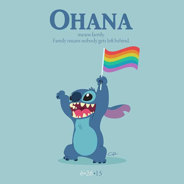 There's been a lot of creative stuff to celebrate #LoveWins, but this one really got me :,) http://t.co/UAiFotQCOD