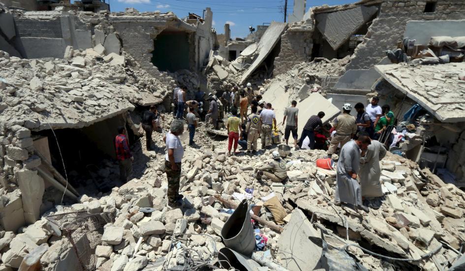 United Nations: Assad's barrel bombs continue to kill Syrian civilians