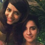 RT @simplekaulpics: Ouch !!!! Shruti & me in one frame .Pam doesn't hate Jiya anymore. With beautiful @SethShruti #Friends #brewbort cafe h…