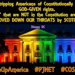 MT @jstines3: WH is DISNEY DC, as rights NOT IN CONSTITUTION are shoved down American throats. http://t.co/4CqNPgBgYW #COSProject #PJNET