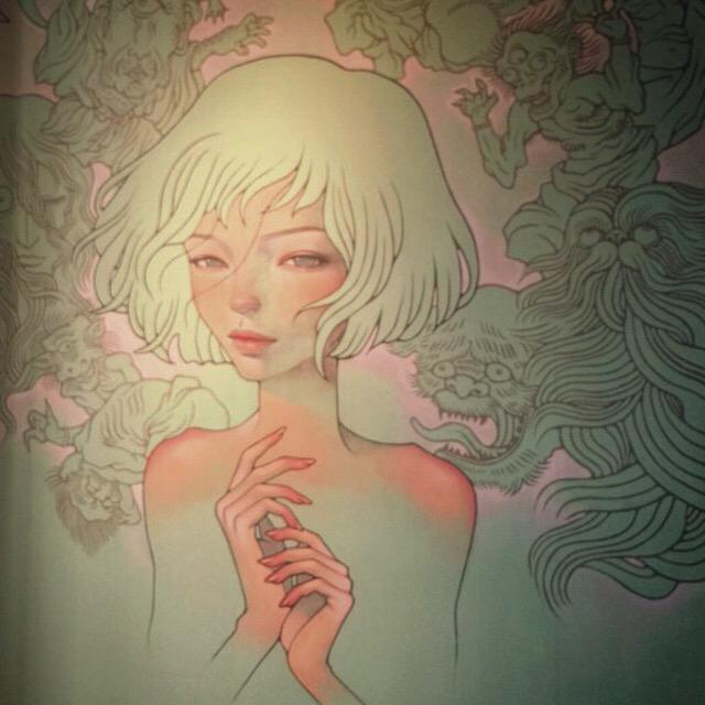 Delicate work by @AudreyKawasaki at the Long Beach Museum of Art @VisitLB @powwowlongbeach @POWWOWHAWAII #ArtsinLB http://t.co/XgYJqwNEOy