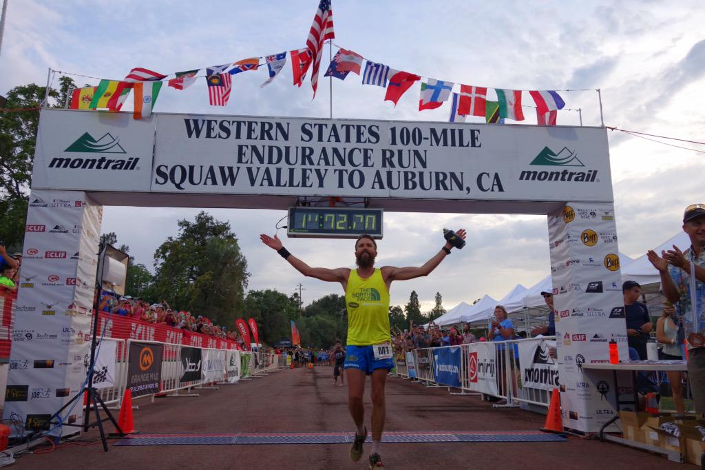 Rob Krar (@TheNorthFace) wins the 2015 Western States 100 in 14:48:59. #WS100 http://t.co/54OUmAqTVb