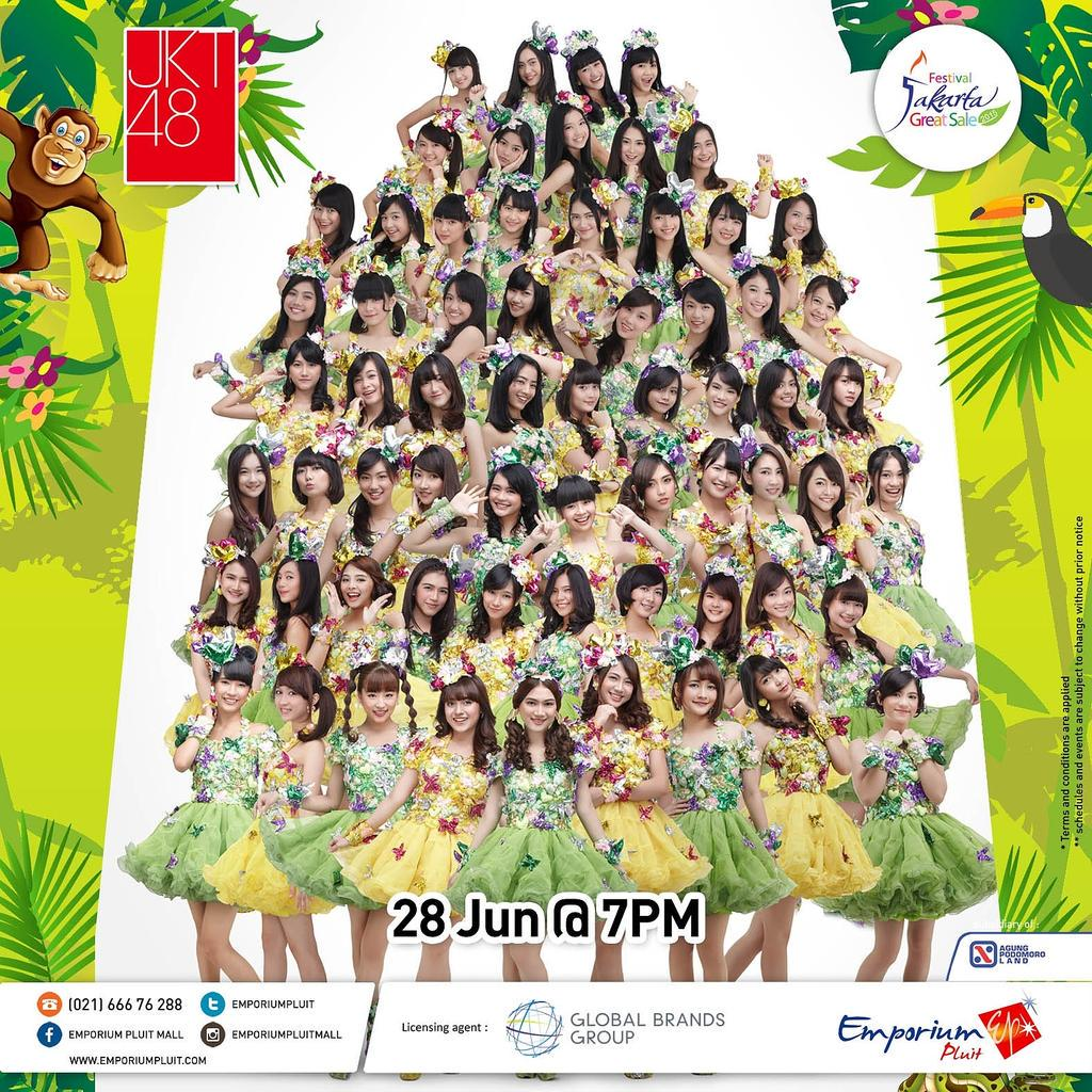 JKT48 will perform tonight 28 Jun 2015 at 7PM at our Main Atrium for the opening of MIDNITE SALE. Don't miss it! http://t.co/lsAAAPsiDd