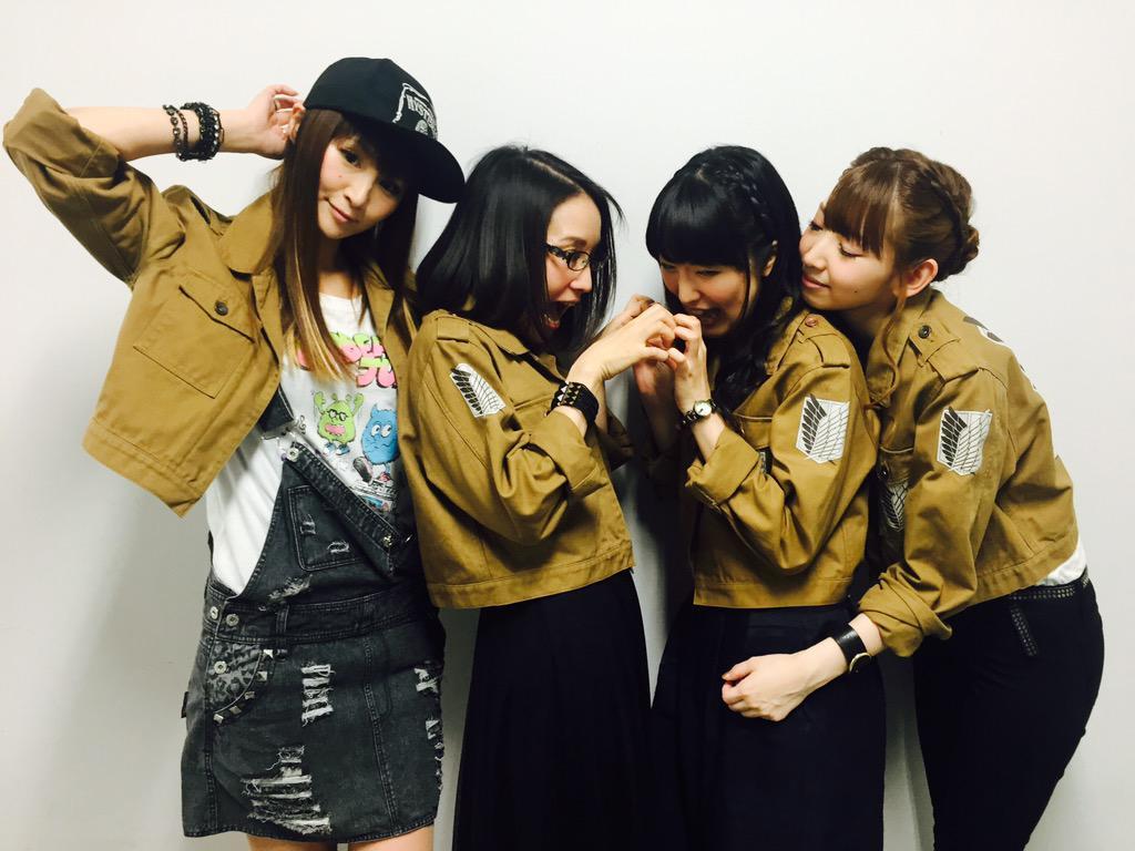 後編〜自由の翼〜公開2日目!!舞台挨拶@横浜ブルク13に登壇いただいた、小林さん、嶋村さん、石川さん、井上さん。お越しいただきました皆さま、ありがとうございました!#shingeki pic.twitter.com/a4onatakvz