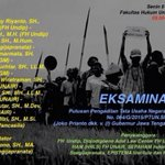 #jogja @JmppkRembang 6/7/15 9.00-16.45 EKSAMINASI Kasus Semen Rembang di R Seminar FH Undip Tembalang #semarang http://t.co/o7b3BJ0GKG