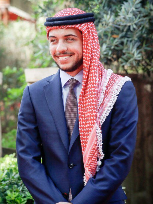 The Royal Hashemite Court wishes His Royal Highness Crown Prince Al Hussein bin Abdullah II a Happy 21st birthday