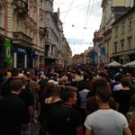 Herrengasse in #Graz jetzt. http://t.co/eY7arC7Q7m