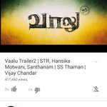 RT @editorsuresh: #VaaluTrailer2 Crossed 400,000+ Views & Still Counting! #ThaaruMaaruTrailer #ExtremeLocal #Sharpu #VaaluJuly17 #STR