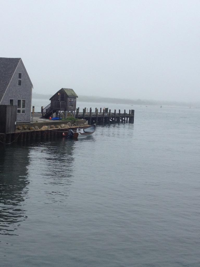 I am in Woods Hole.  Here is the dock where Carrie picks up Penny and Cadence in #wewereliars. http://t.co/NjpjYCq21v